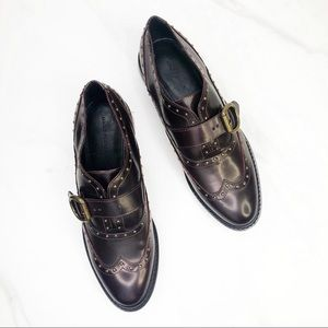 Marc Fisher Bryleigh Studded Oxford Loafers Men 11